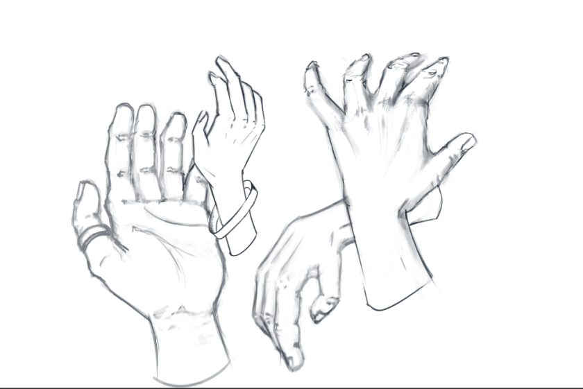 hand-sketching-study