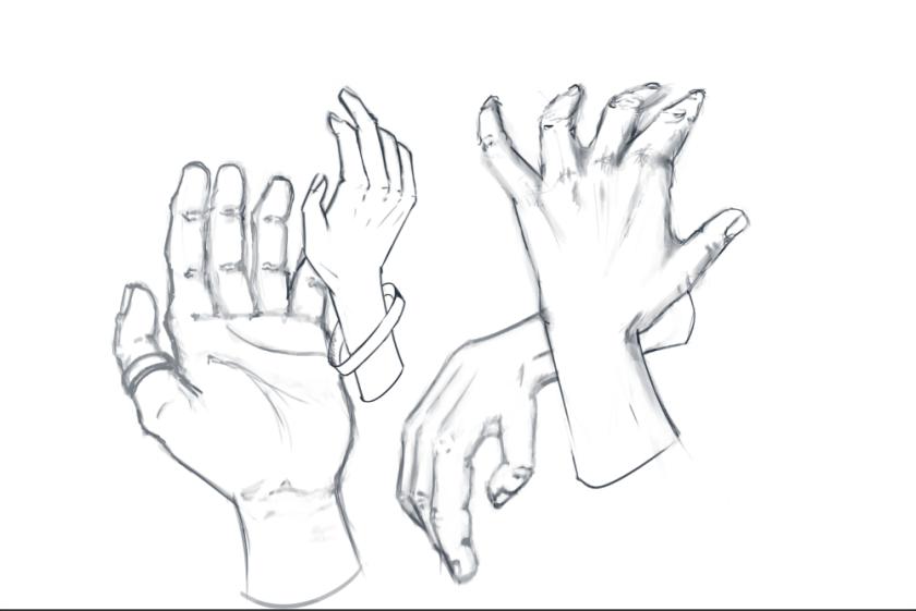 hand-sketching-study