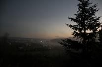Misty dawn - Melhus