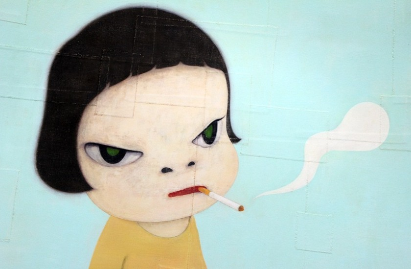 Yoshitomo-Nara-Girl-with-Cigarette-image-via-Tyoindexcom.jpg
